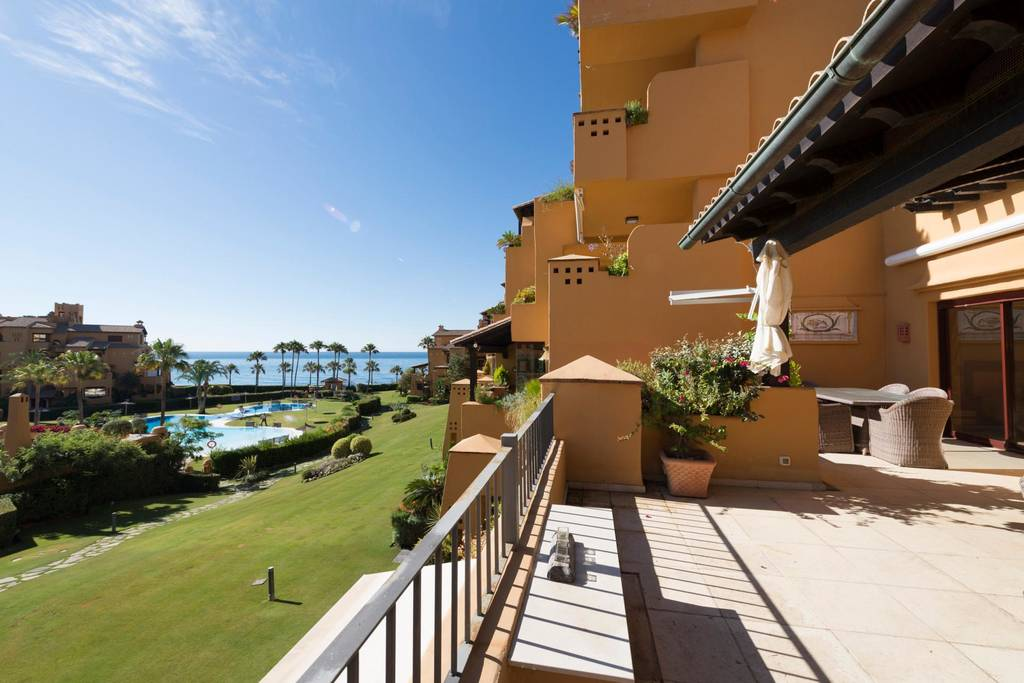 Beachfront Modern Apartment For Sale In Los Granados Del Mar, Estepona