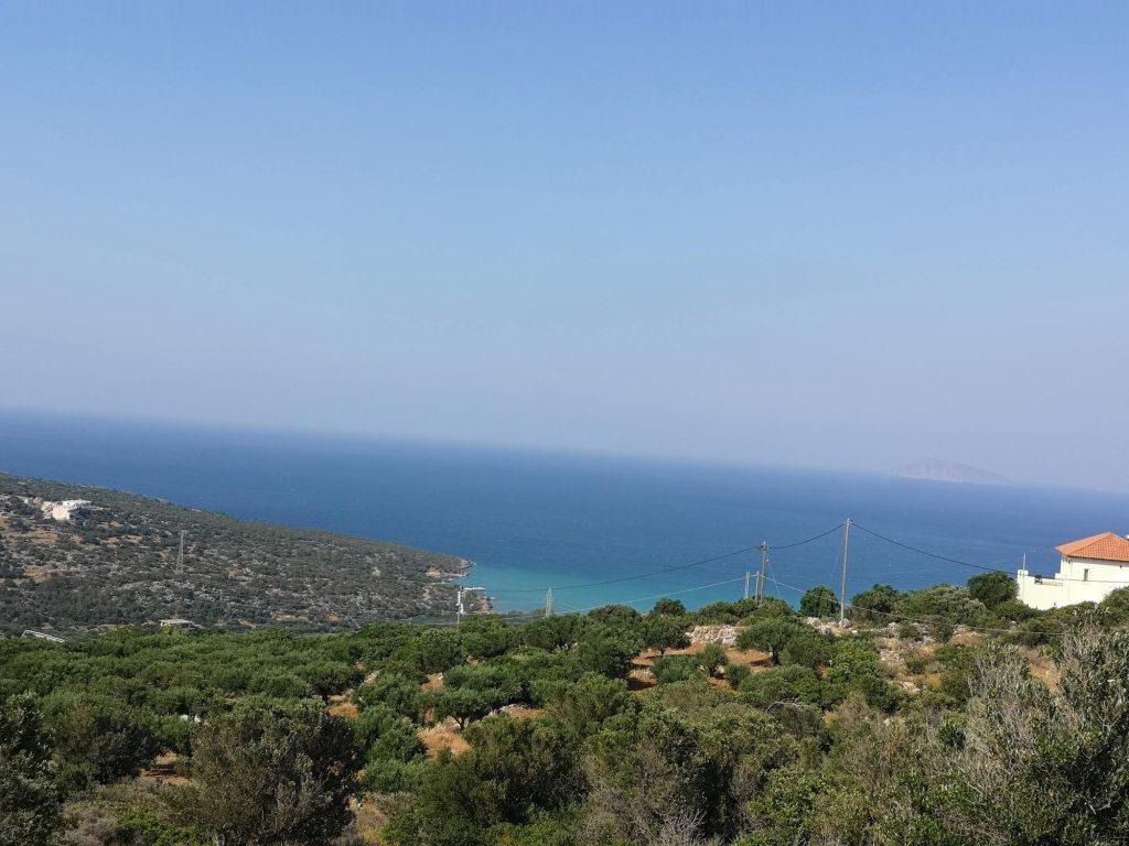 Sea view building land near beautiful sandy beaches and tourist resorts